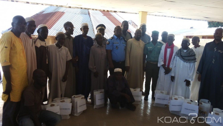 Côte d'Ivoire: À Touba, les forces de l'ordre et de sécurité aux côtés des musulmans, pour le ramadan, du sucre offert