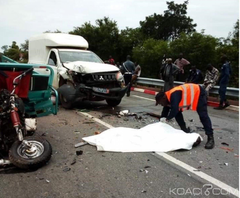 Côte d'Ivoire: Drame, à Ferkessedougou, la collision entre une moto tricycle et une fourgonnette fait deux morts et des blessés