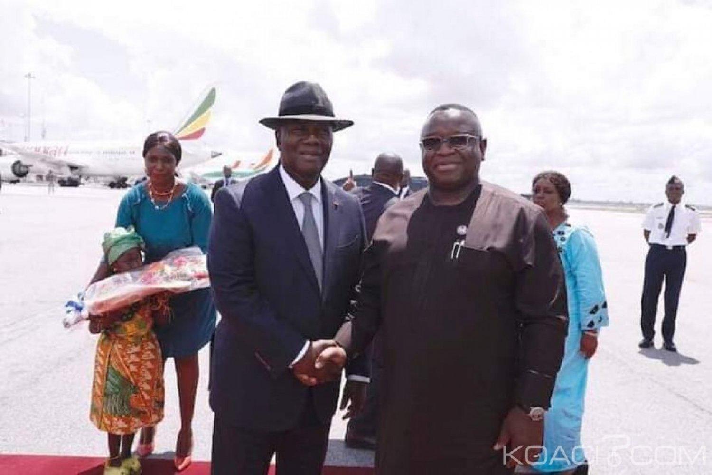 Côte d'Ivoire-Sierra Leone: Julius Maada Bio, remercie Abidjan pour son aide qui a permis à son pays de sortir de la crise de 1996