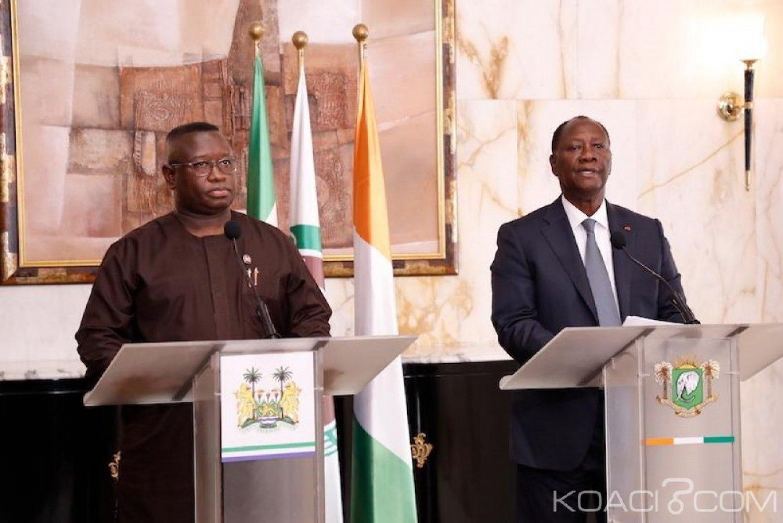 Côte d'Ivoire-Sierra Leone: Ouattara rassure Maada Bio de la reprise des vols Air Côte d'Ivoire à destination de Freetown