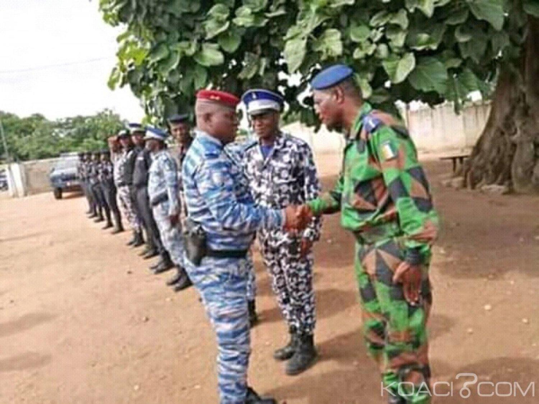 Côte d'Ivoire : Préoccupé par la situation sur le terrain, le Gl Apalo Alexandre Touré s'invite à Béoumi