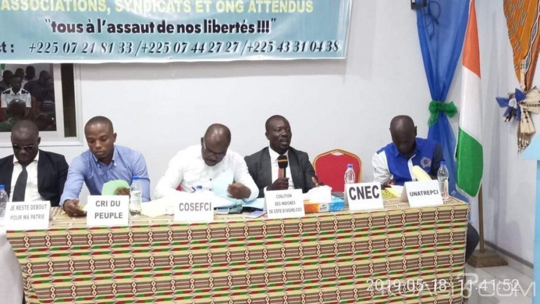 Côte d'Ivoire : Abidjan, Samba David crée une plateforme pour la défense des libertés et affirme que le conflit de Béoumi est la résultante des discours politiques