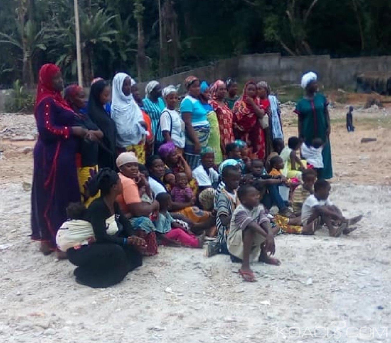 Cote d'Ivoire: Des déguerpis du  quartier Fanny à Yopougon entendant assiéger 03 ministères au Plateau