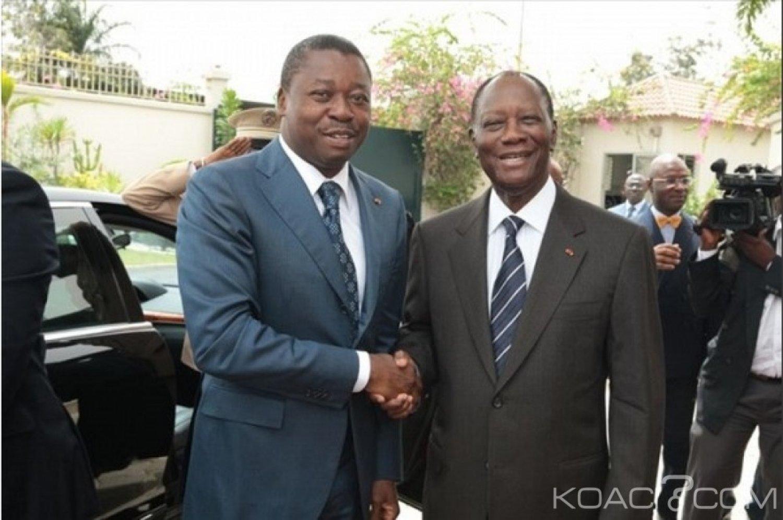 Côte d'Ivoire-Togo : Annoncée, la visite de Faure à Abidjan reportée