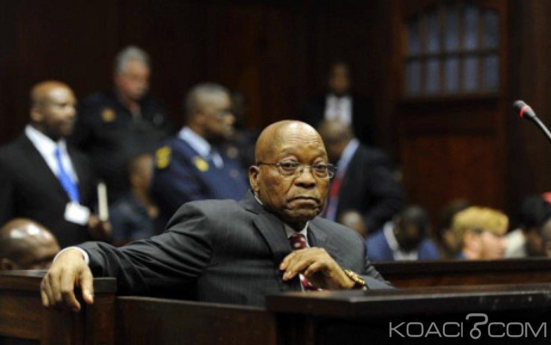 Afrique du Sud: Poursuivi pour corruption, Jacob Zuma dénonce une «chasse aux sorcières»