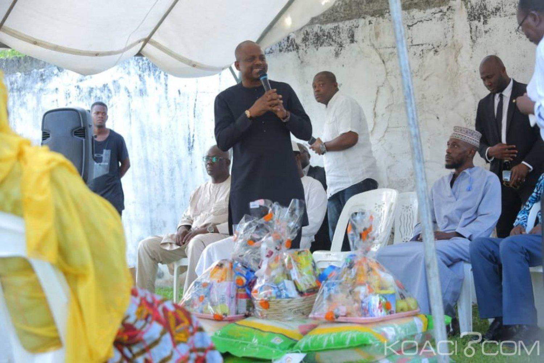 Côte d'Ivoire : Ramadan, Sawegnon offre une tonne de riz et une tonne de sucre