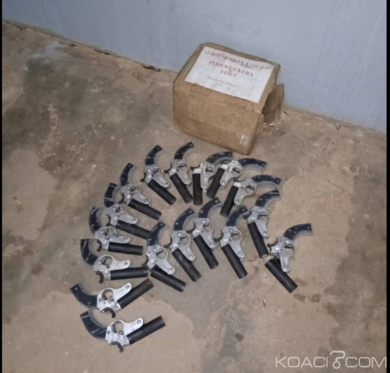 Côte d'Ivoire : Touba, 17 armes de fabrication artisanale saisies par la gendarmerie