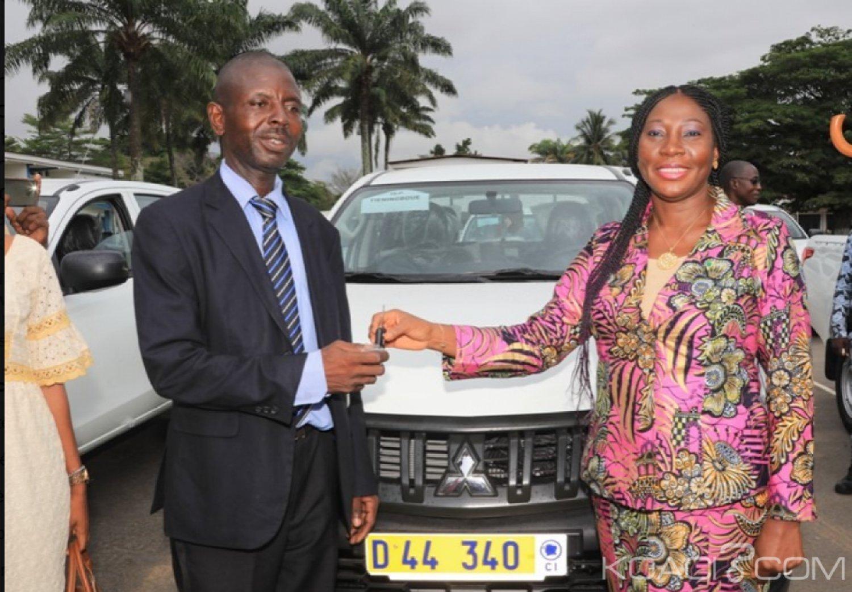 Côte d'Ivoire : Education nationale, 30 véhicules remis  aux responsables des structures déconcentrées