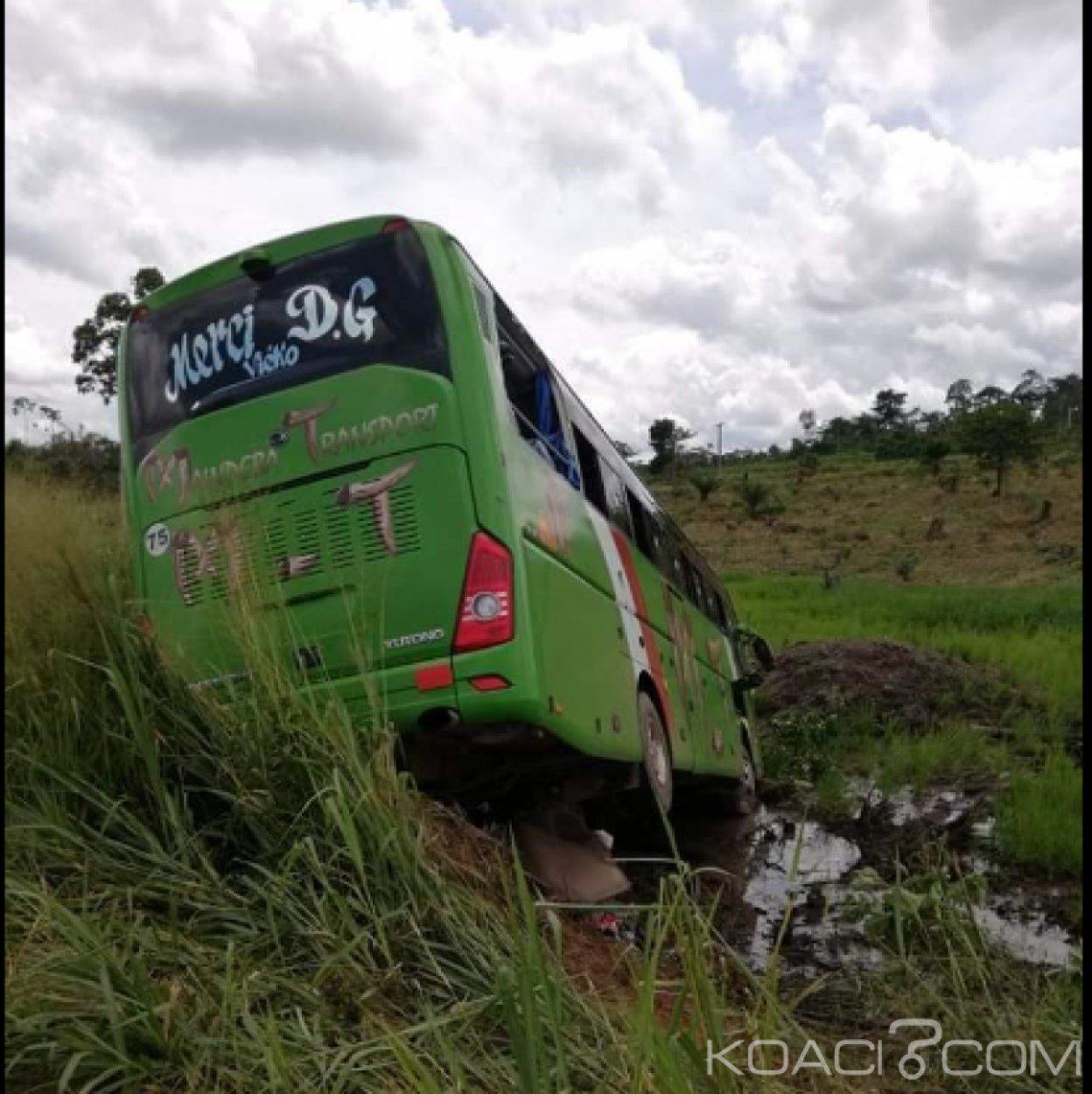 Côte d'Ivoire : Une collision entre un car de transport et un véhicule de particulier  ce mercredi  dans le Lôh-Djiboua,  « des morts » signalés