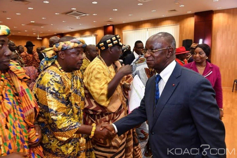 Côte d'Ivoire : Ramadan, la génération Tchagba des 63 villages Atchan soutient Gon avec 10 tonnes de vivres et de non vivres