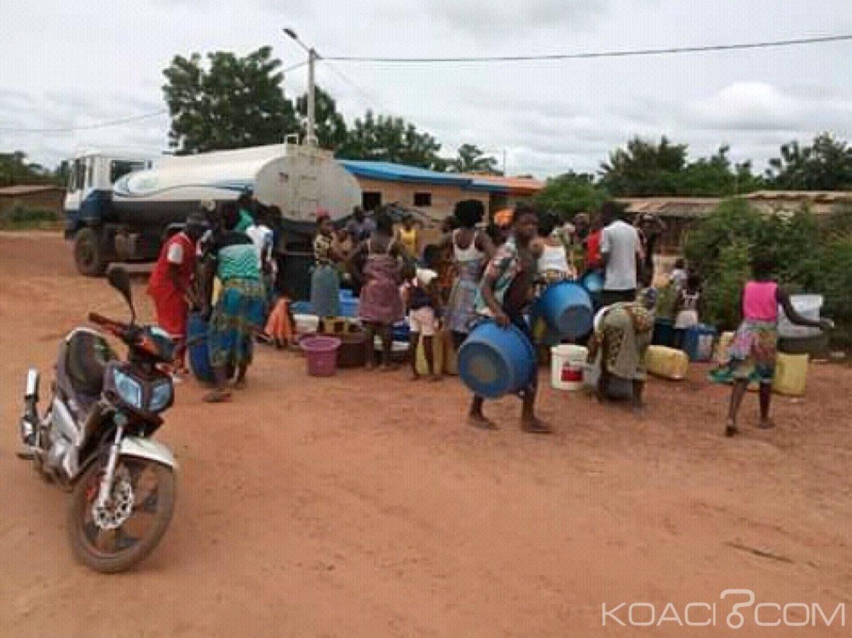 Côte d'Ivoire : Prikro, face à la pénurie d'eau qui frappe la ville, l'ONEP tente de soulager la population