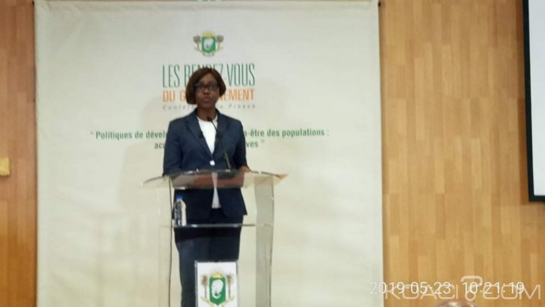 Côte d'Ivoire : Rendez-vous du Gouvernement, Nialé Kaba formelle : «la Côte d'Ivoire progresse bien et se donne les moyens de progresser »