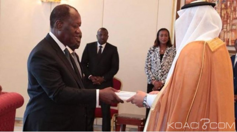 Côte d'Ivoire : Cinq nouveaux Ambassadeurs accrédités au pays ont présenté  leurs lettres de créance à Ouattara