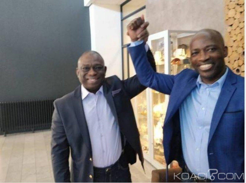 Côte d'Ivoire : Deuxième rencontre KKB et Blé Goudé, la question de la réconciliation et la paix au centre des débats «main dans la main nous y arriverons»
