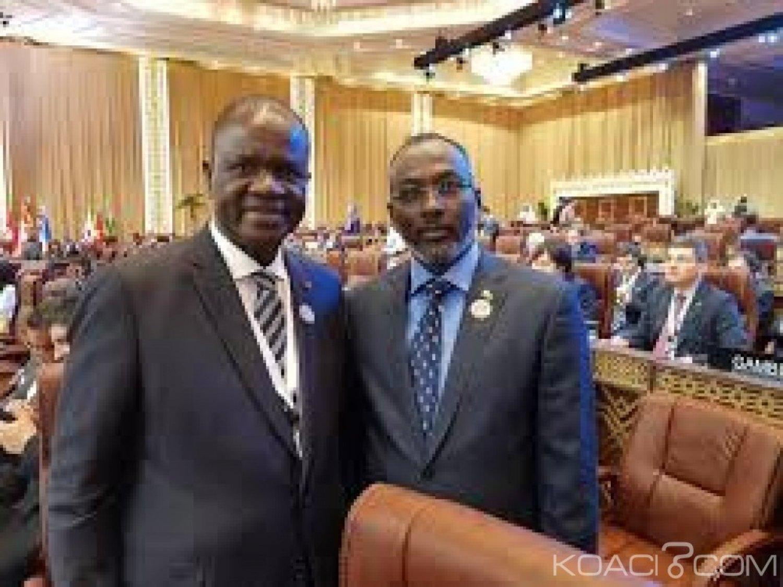 Côte d'Ivoire : Assemblée nationale, le Président et l'Ambassadeur du Qatar planchent sur les projets de construction d'Universités et de bitumage de routes