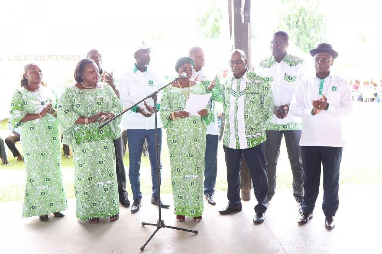 Côte d'Ivoire : Depuis Daoukro, Bobi Assa à Bédié «nous attendons vos mots d'ordres et vos instructions pour le retour du PDCI au pouvoir en 2020 »