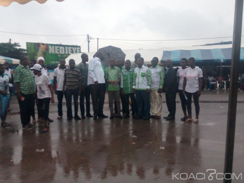 Côte d'Ivoire: Depuis Agboville, Valentin Kouassi de la JPDCI « Il est temps que les vrais ivoiriens se mettent ensemble parce que la situation est grave»