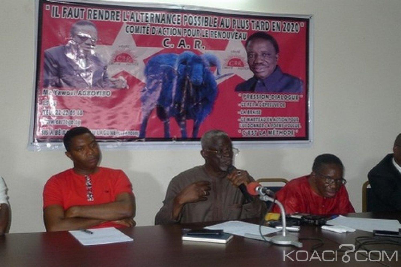 Togo : Opposition, naissance de la Coalition rénovée