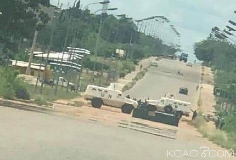 Côte d'Ivoire: Yamoussoukro, déploiement militaire sur une artère pour une manœuvre vers le nord, panique dans la ville