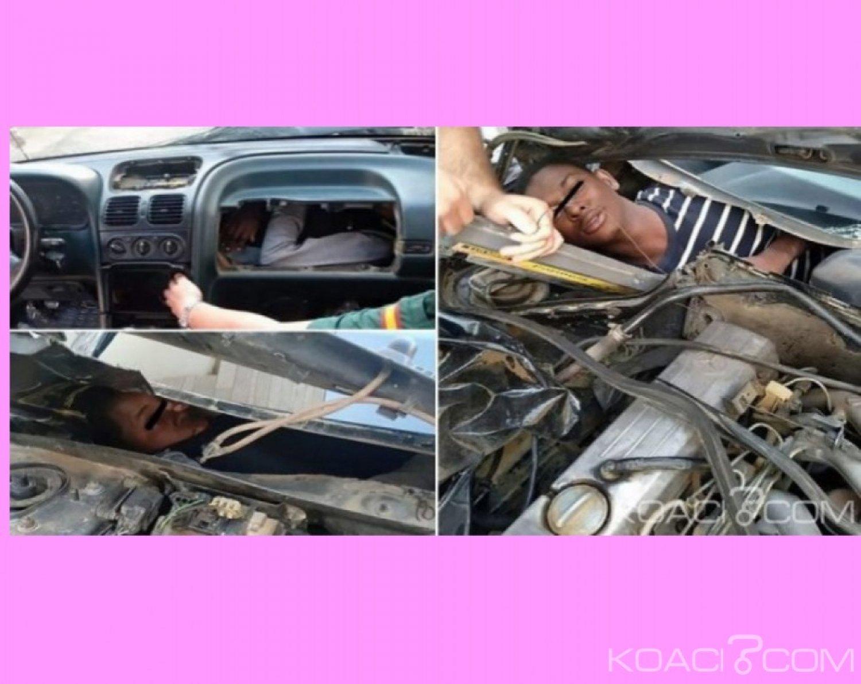 Maroc- Espagne: Trois émigrants dont une adolescente retrouvés cachés dans des voitures