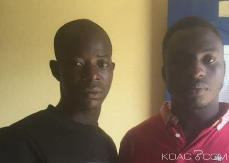 Côte d'Ivoire : Deux individus simulent un braquage  pour s'accaparer  la somme de 28 millions FCFA du patron