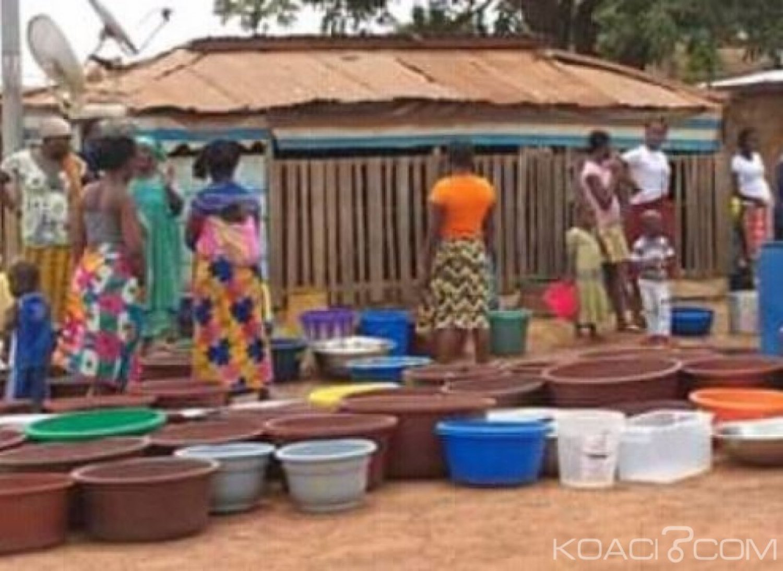 Côte d'Ivoire : Duekoué, vue l'intensité de la pénurie d'eau, la population sollicite l'aide des autorités