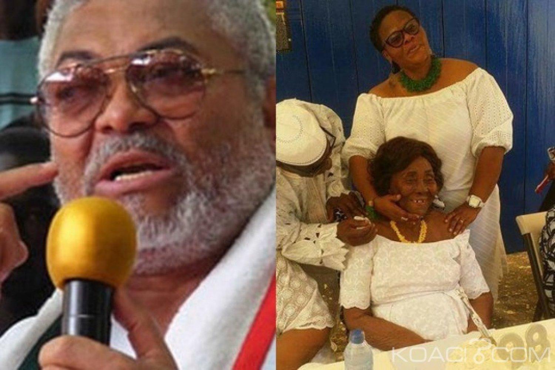 Ghana: Rawlings rassure le public « Ma mère est vivante »