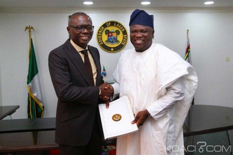 Nigeria : Etat de Lagos, arrivée du gouverneur élu Sanwo-Olu, les adieux de Ambode