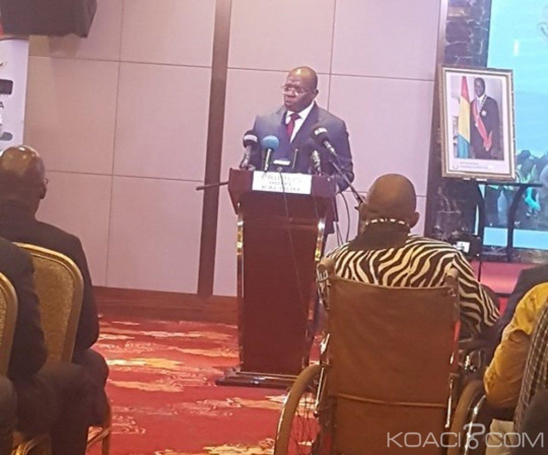 Guinée:  Le Premier ministre Kassory Fofana se dit favorable à une reforme de la constitution