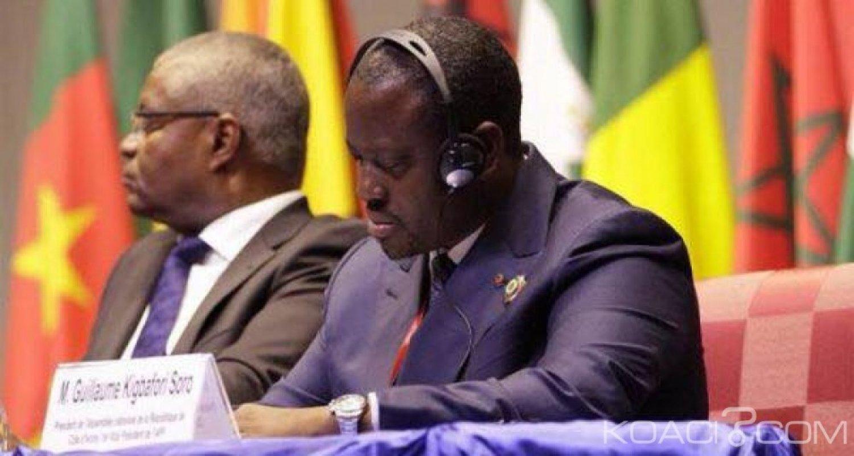 Côte d'Ivoire : Soro adresse un courrier à l'Assemblée parlementaire de la Francophonie «j'exclus toute possibilité de sombrer dans la forfaiture »