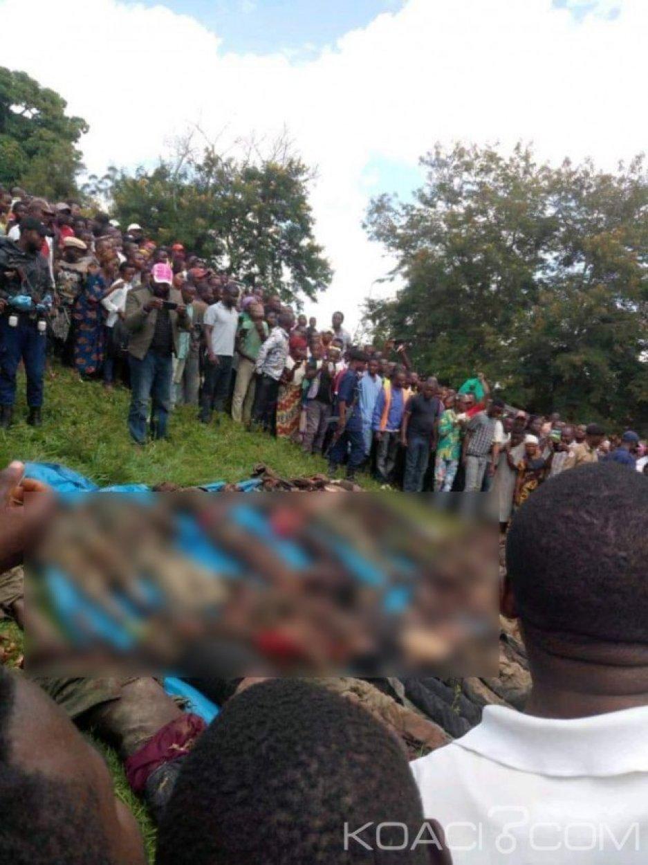 RDC: L'armée expose les corps de 23 miliciens  tués dans des combats à Béni