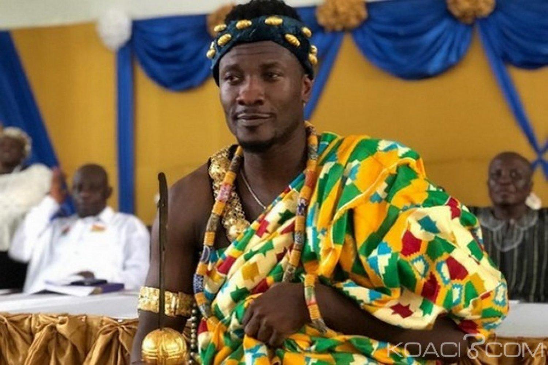 Ghana : Asamoah Gyan fait chef Ngoryifia-Doemenyotor dans le Gbi