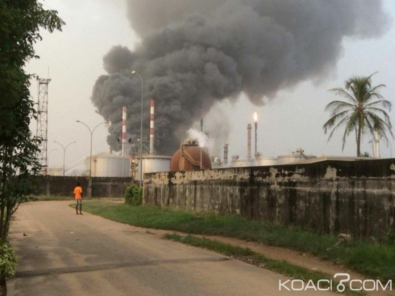 Côte d'Ivoire : Un incendie déclaré à la SIR mais vite maîtrisé par les secours