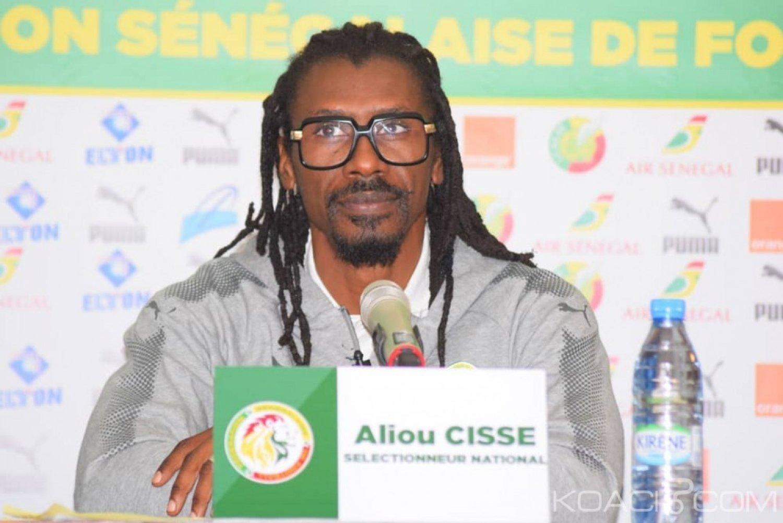Sénégal : CAN 2019, Aliou Cissé publie une liste de 25 joueurs et refuse le statut de favori aux Lions