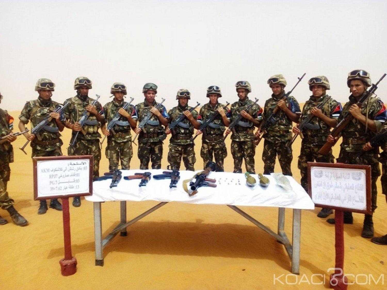 Algérie:  Un important stock d'armes de guerre découvert  à la frontière avec la Libye