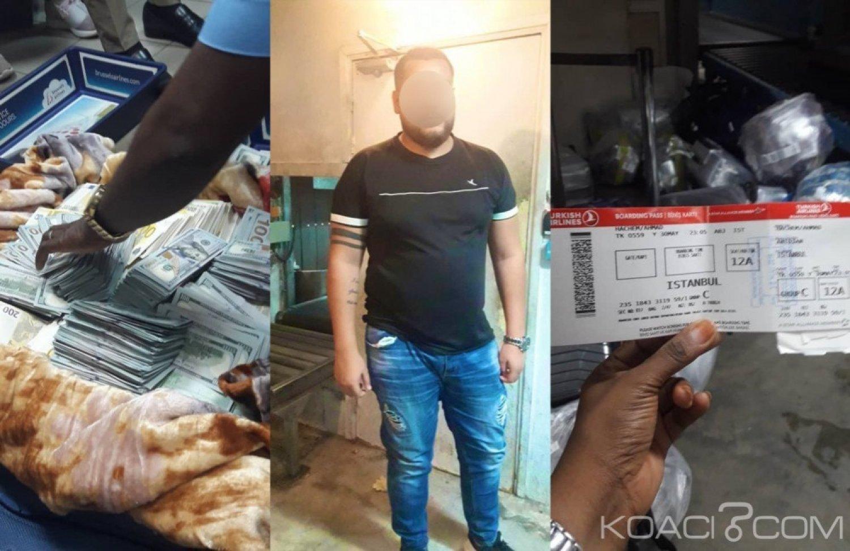 Côte d'Ivoire: Un franco-libanais arrêté avec plus de 3 milliards Fcfa dans ses valises à l'aéroport d'Abidjan