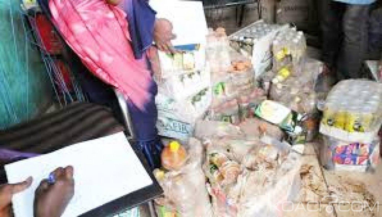 Mali: Saisie à Bamako d'une importante quantité de produits alimentaires périmés