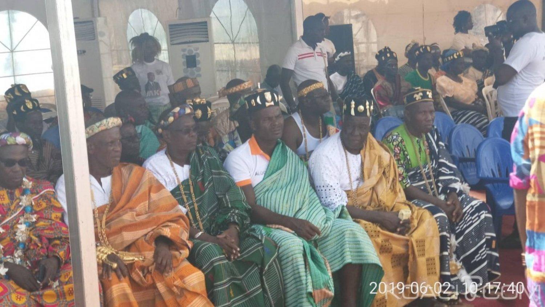 Côte d'Ivoire: Les chefs traditionnels du département de Didiévi pas tous d'accord avec l'adhésion d'Ahoussou au RHDP