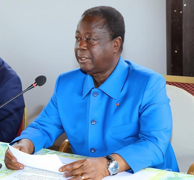 Côte d'Ivoire : Le parti de Bédié à Patrick  Achi «arrêtez donc les intimidations et les menaces pour obliger les ivoiriens à adhérer à votre RHDP »