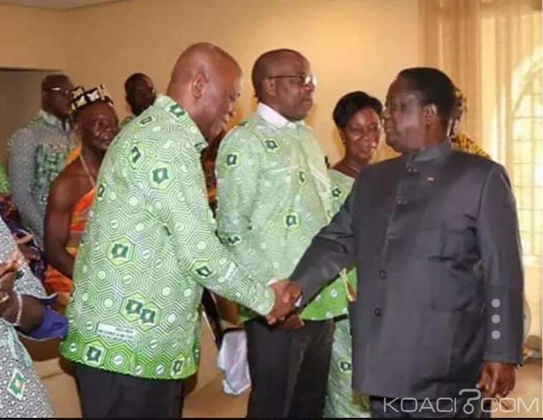 Côte d'Ivoire : Recevant une délégation de Koumassi à Daoukro, Bédié « 2020 nous attend »