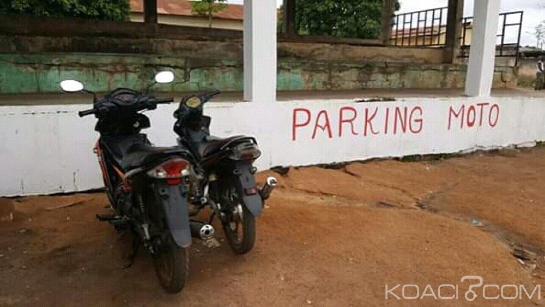 Côte d'Ivoire : Bondoukou, pour éviter les stationnements anarchiques, un parking moto ouvert au grand marché
