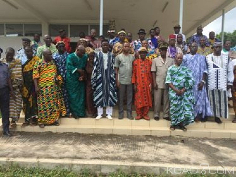 Côte d'Ivoire : Béoumi, les communautés en conflit demandent aux Rois et chefs traditionnels de s'impliquer dans la libération des personnes interpellées