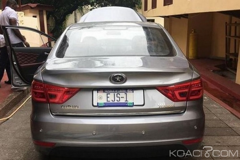 Liberia-Ghana : Ellen Sirleaf s'offre une voiture locale Kantanka au Ghana