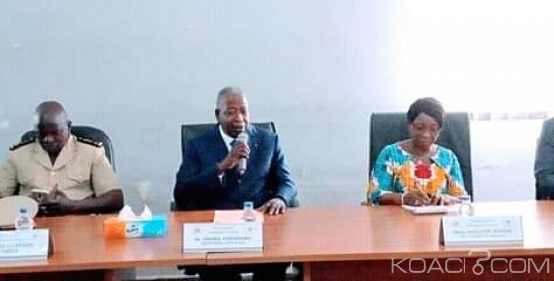 Côte d'Ivoire : En prélude à sa visite de consolidation des liens à Béoumi, Adama Toungara échange avec l'Armée à Bouaké