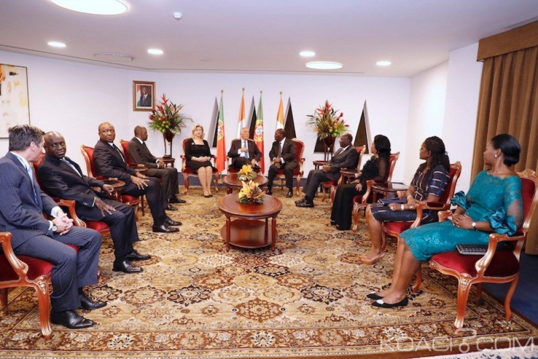 Côte d'Ivoire : Coopération, quatre accords institutionnels signés entre Abidjan et Lisbonne