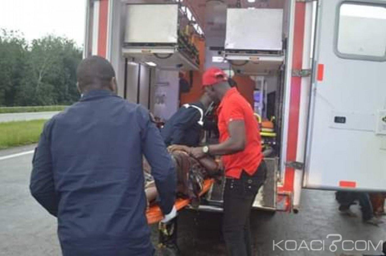 Côte d'Ivoire : Suite à la sortie de route d'un car, une femme enceinte tuée
