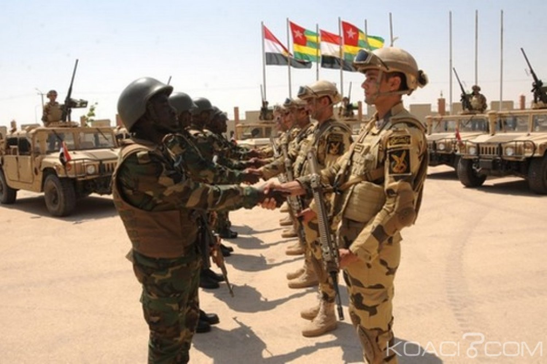 Egypte-Togo : Exercices militaires conjoints contre le terrorisme