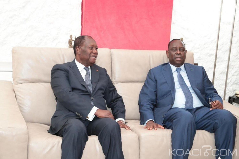 Côte d'Ivoire : Visite d'Etat, le couple Présidentiel sénégalais à Abidjan du 20 au 22 juin prochain
