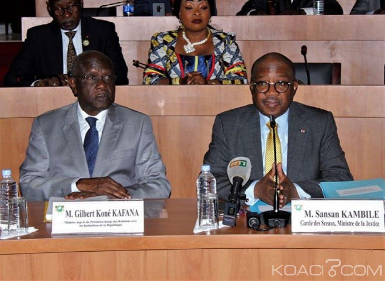 Côte d'Ivoire: Le Code pénal doté de mesures alternatives à l'incarcération, telles que le travail d'intérêt général et le fractionnement de certaines peines privatives de liberté