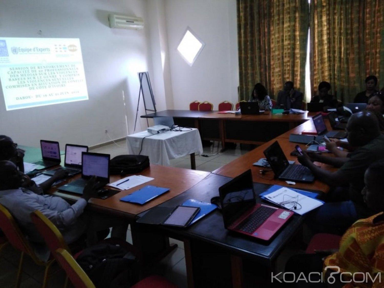 Côte d'Ivoire: Violences sexuelles liées aux conflits, ouverture d'un atelier par le PNUD  sur le renforcement de capacité des medias